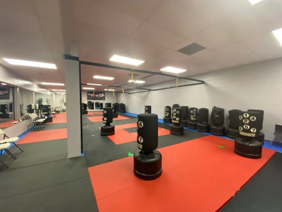 Upstairs Boxing Room